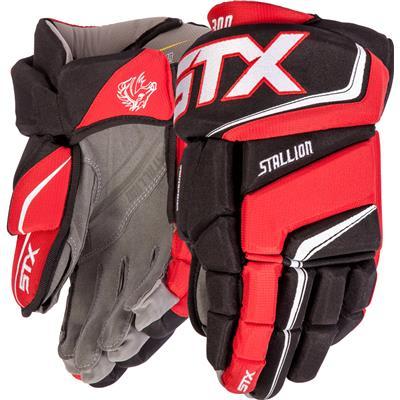 (STX Stallion 300 Hockey Gloves)