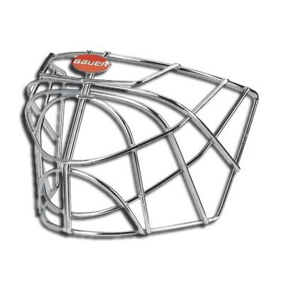 d454554ad9f Front-Chrome (Bauer Profile RP624 Certified Cat Eye Goalie Cage - Senior)
