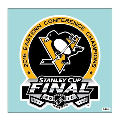 (Wincraft Pittsburgh Penguins 2016 Stanley Cup Final Decal)