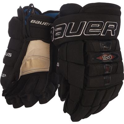 Black (Bauer Nexus 1N Hockey Gloves - Senior)