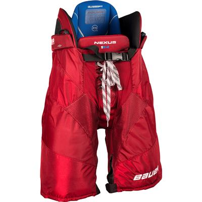 Red (Bauer Nexus 1N Hockey Pants - Junior)