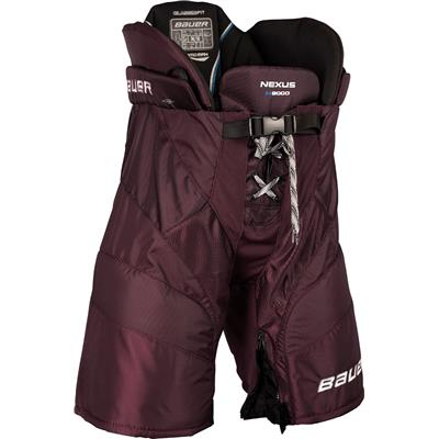 Maroon (Bauer Nexus N9000 Hockey Pants - Senior)