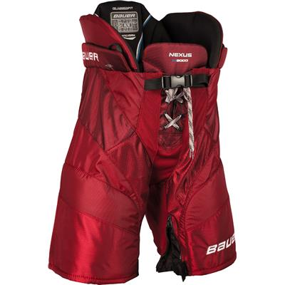 Red (Bauer Nexus N9000 Hockey Pants - Senior)