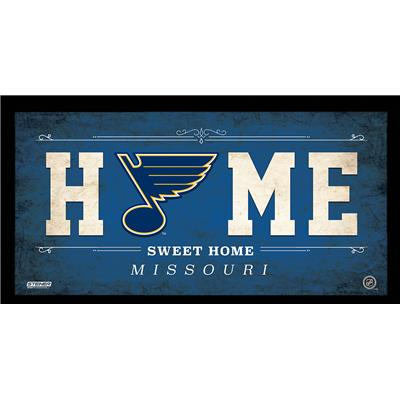 (NHL Home Sweet Home Sign)