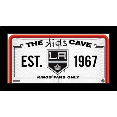 (NHL Kids Cave Sign)