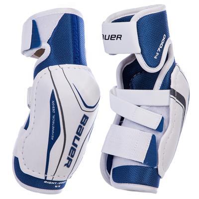 (Bauer Nexus N7000 Hockey Elbow Pads - Junior)
