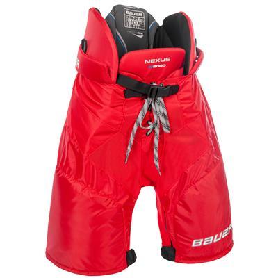 Red (Bauer Nexus N8000 Hockey Pants)