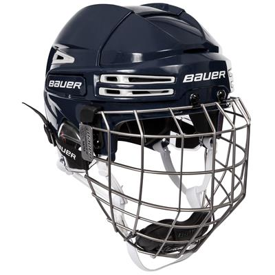Navy/White (Bauer RE-AKT 75 Hockey Helmet Combo)