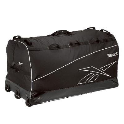5b676c1347b Black (Reebok Goalie Equipment Wheel Bag - Junior)