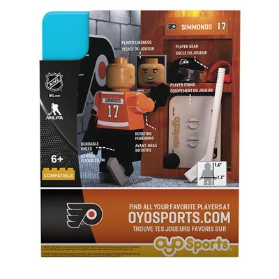 (OYO Sports Philadelphia Flyers G3 NHL Mini Figures)