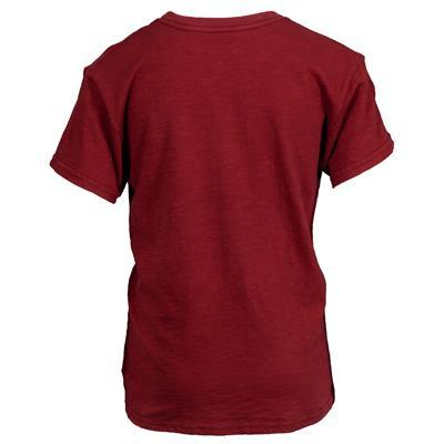 (Retro Brand Colorado Avalanche Slub Tee Shirt)