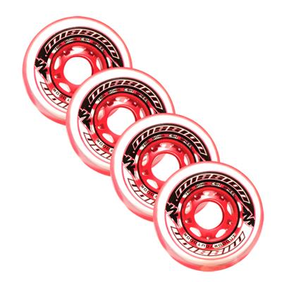 Mission CSX Mulit-Surface Inline Hockey Wheels (Mission CSX Mulit-Surface Inline Hockey Wheels - 4 Pack)