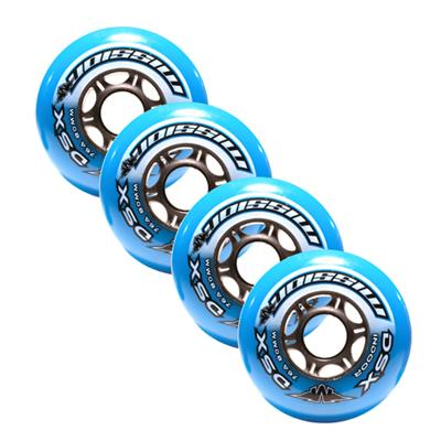 Mission DSX Indoor Inline Hockey Wheels (Mission DSX Indoor Inline Hockey Wheels - 4 Pack)