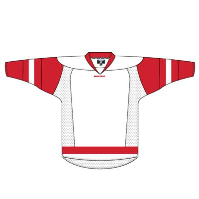 Detroit Red Wings (Bauer 800 Series Practice Hockey Jersey - 2014 - Detroit Red Wings - White/Red)