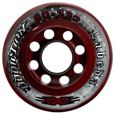 Labeda Addiction XXX Inline Hockey Wheels (Labeda Addiction XXX Inline Hockey Wheels - Black/Orange)