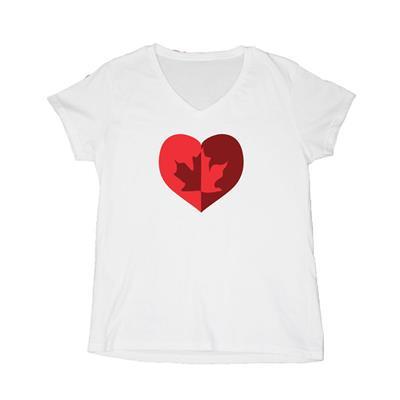 Kunnuk Heart Away Short Sleeve (Heart Away Short Sleeve Hockey Shirt - Womens)