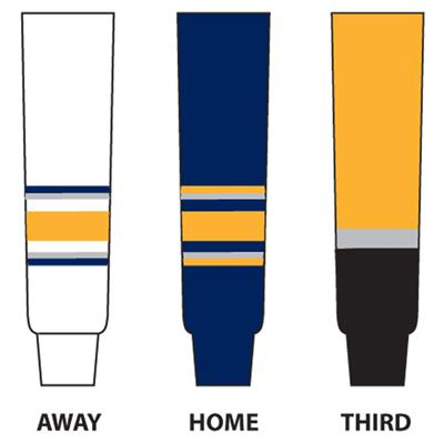Dogree NHL Team Hockey Socks - Buffalo (NHL Team Hockey Socks - Buffalo Sabres - Senior)