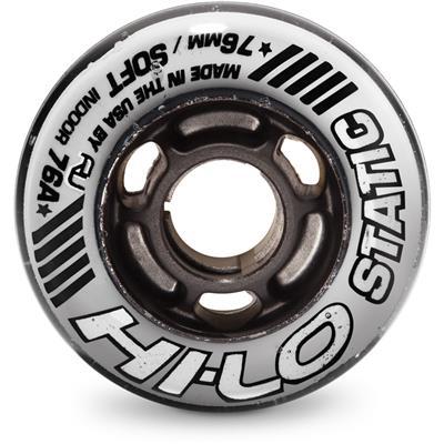 Hi-Lo Static Inline Hockey Wheel (Mission Hi-Lo Static Inline Hockey Wheel - Black)