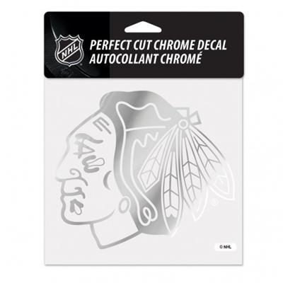 WinCraft Perfect Cut Hockey Chrome Decal - Chicago (Wincraft Perfect Cut Hockey Chrome Decal)