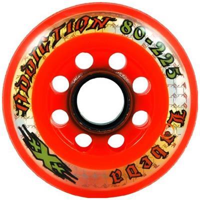 Labeda Addiction XXX (Labeda Addiction XXX Inline Hockey Wheels - Black/Orange)