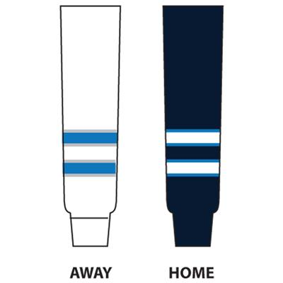 Dogree NHL Team Hockey Socks - Winnipeg (NHL Team Hockey Socks - Winnipeg Jets)