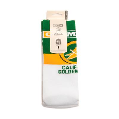 NHL Hockey Socks - California Golden Seals (Reebok C236Z NHL Hockey Socks - California Golden Seals)
