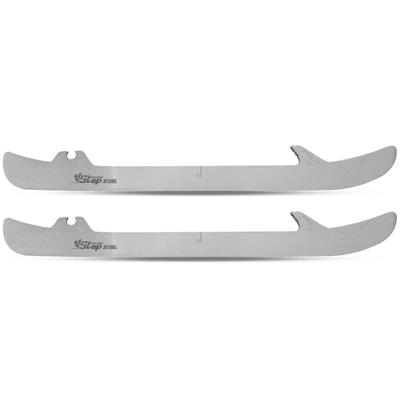 Step Steel Xtra Long Bauer (Step Steel Steel Xtra Long Bauer Lightspeed/Lightspeed 2 Hockey Skate Runner - Pair)