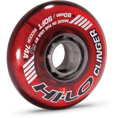 Hi-Lo Clinger Inline Hockey Wheel (Mission Hi-Lo Static Inline Hockey Wheel - Black)