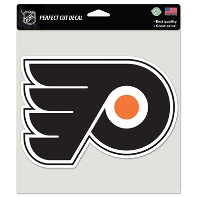 Color Hockey Decals - Philadelphia Flyers (Wincraft Perfect Cut Color Hockey Decals - Philadelphia Flyers)