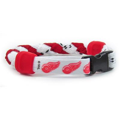 Swannys NHL Bracelet - Detroit Red Wings (NHL Bracelet - Detroit Red Wings - 8 Inch)