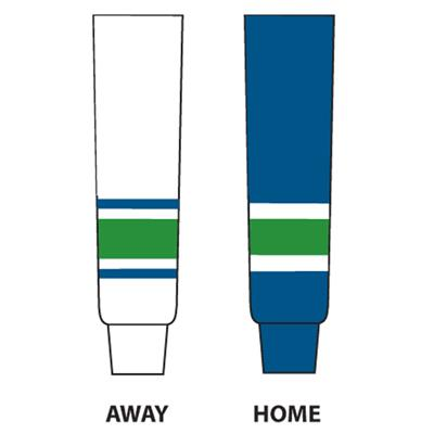 NHL Team Socks VAN (NHL Team Hockey Socks - Vancouver Canucks - Youth)
