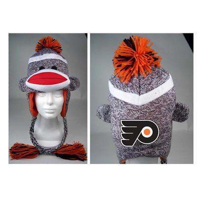 Sock Monkey Team Hat PHI (Sock Monkey Team Hat - Philadelphia Flyers)