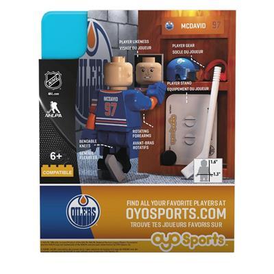 G3 Minifigure - McDavid EDM (OYO Sports Connor McDavid G3 Minifigure - Edmonton Oilers)