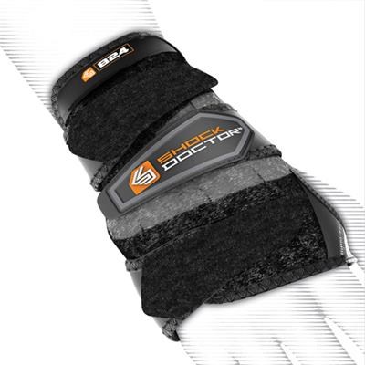 Shock Doctor 824 Hockey 3-Strap Wrist Support (Shock Doctor 824 Hockey 3-Strap Wrist Support)