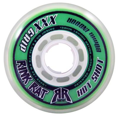 Green/White (Rink Rat Hot Shot Outdoor Wheels)