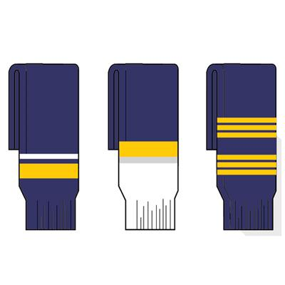 Sabres (FlexxIce Team SK200 Hockey Socks - Buffalo Sabres)