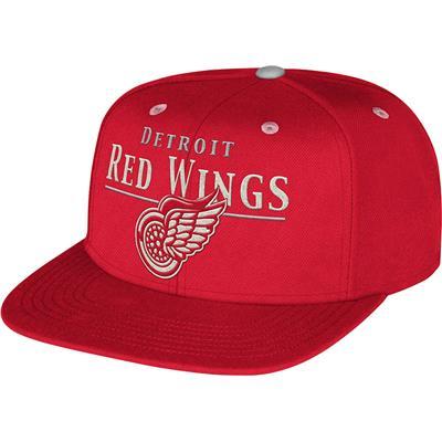 CCM VG86Z Flat Brim Snapback Hockey Hat - Detroit (CCM Flat Brim Snapback Hockey Hat - Detroit Red Wings)