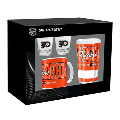 Mustang Collegiate Gift Set - Philadelphia Flyers (Collegiate Gift Set - Philadelphia Flyers)