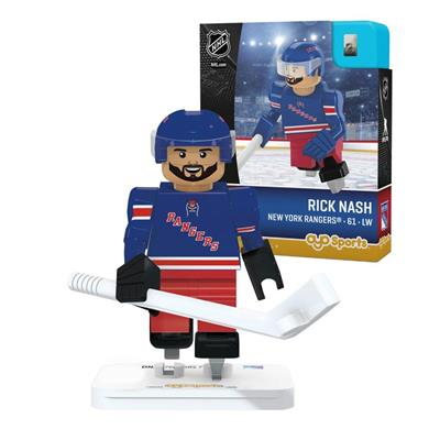 Rick Nash G3 Minifigure (OYO Sports Rick Nash G3 Minifigure - New York Rangers)