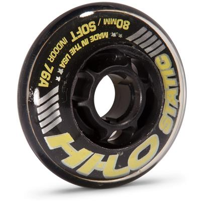 Hi-Lo Clinger Wheel (Mission Hi-Lo Static Inline Hockey Wheel - Black)