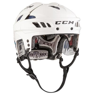 White/Royal (CCM FITLITE Hockey Helmet)