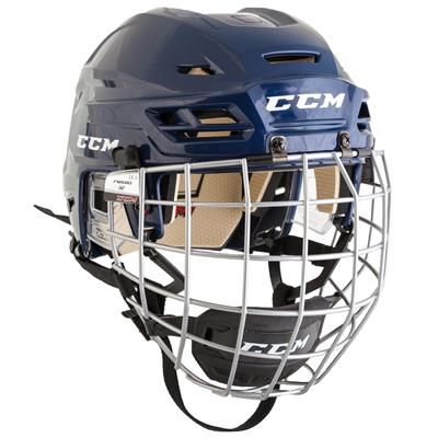 Navy (CCM RES 110 Hockey Helmet Combo)