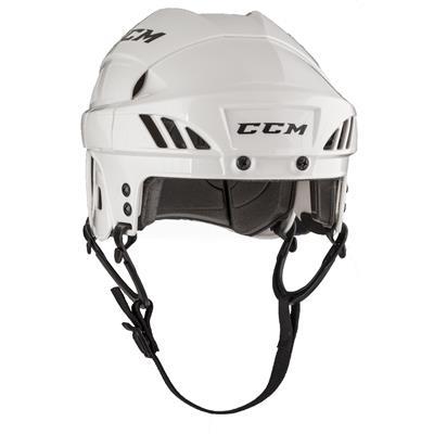 White (CCM Fitlite FL40 Hockey Helmet)