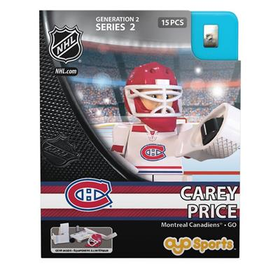 Carey Price Minifigure MON (OYO Sports Carey Price Minifigure - Montreal Canadiens)