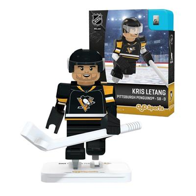 G3 Minifigure - Letang PIT (OYO Sports Kris Letang G3 Minifigure - Pittsburgh Penguins)