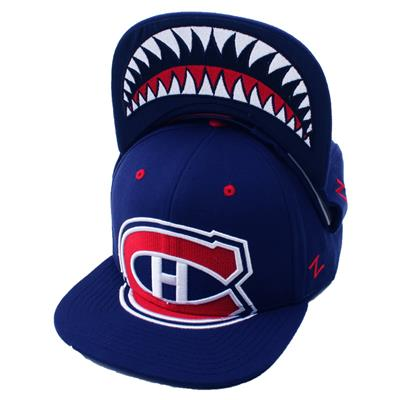 Menace Hat MTL (Zephyr Menace Snapback Hockey Hat - Montreal Canadiens)