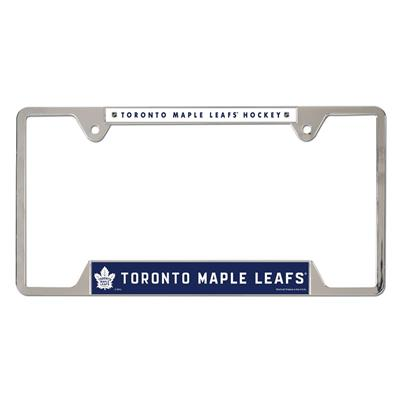 Metal License Frame TOR (Wincraft Metal Hockey License Plate Frame)