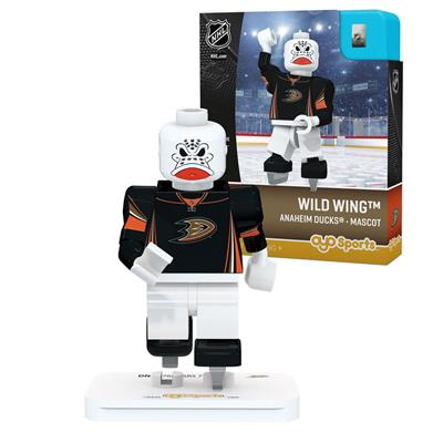 Wild Wing Minifigure ANA (OYO Sports Wild Wing Minifigure - Anaheim Ducks)