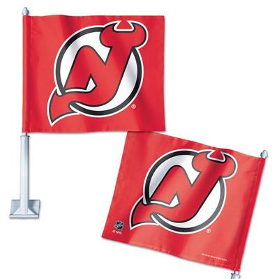 Car Flag NJD (Wincraft Hockey Car Flag - New Jersey Devils)