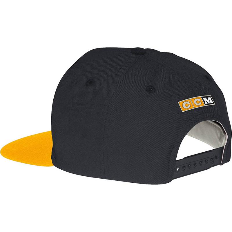 NX09Z StripeLogo Hat BOS (CCM Striped Logo Snapback Hockey Hat - Boston  Bruins) efac47a1061